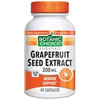 ბოტანიკურ Choice Graperfruit თესლის ექსტრაქტით