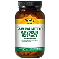 Country Life Saw Palmetto And Pygeum Extract