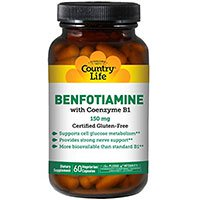 Country Life Vitamin B1 Met Benfotiamine