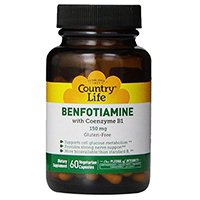 Country Life Vitamin B1 with Benfotiamine