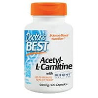 Doctors Best Acetyl L Carnitine With Biosint Carnitines