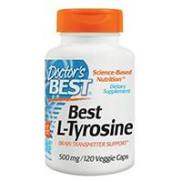 Doctor's Best L-Tyrosine Supplement