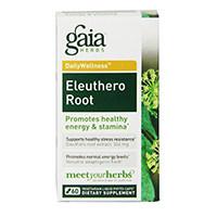 Gaia Urter Eleuthero Root Flydende Phyto-kapsler