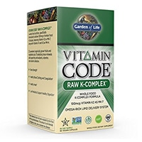 Garden of Life Vegan K-vitamin Supplement