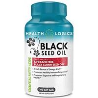 Salute Logiche cumino nero olio di semi