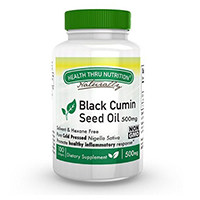 Health Thru Nutrition Black Cumin Seed Oil