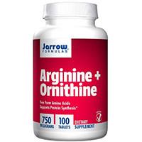 Jarrow Formulas Arginine et Ornithine