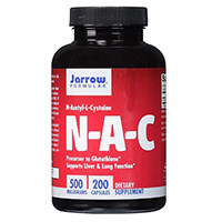 Jarrow Kaavat NA- C (N-asetyyli- L-kysteiini)