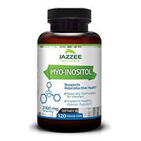 पीसीओ के लिए Jazzee नेचुरल्स म्यो-Inositol