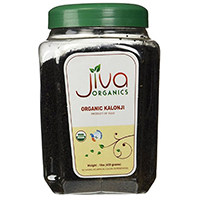 Jiva USDA Organic Raw Μαύρο Κύμινο Seed
