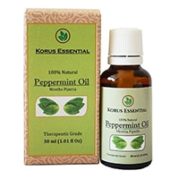 Korus 100 Essencial% Natural Peppermint Óleo Essencial
