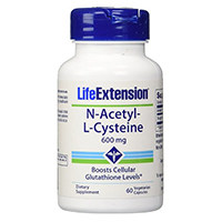 Life Extension N-asetyylikysteiini 600 Mg