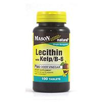 Mason Vitamin LECITHIN dengan rumput laut