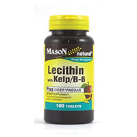 Mason Vitamins LECITHIN WITH KELP