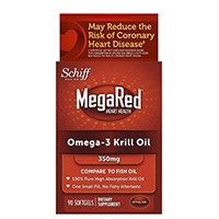 MegaRed Ωμέγα 3 Krill Oil-100% Αγνό κριλ πετρελαίου της Ανταρκτικής