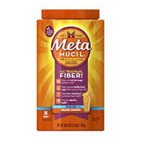 Metamucil Daily Fiber Supplement 100% Naturlig Psyllium Husk