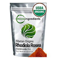 Micro Ingredients Organic Rhodiola Rosea (3% Salidroside) Extract Powder
