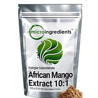 Micro Inhaltsstoffe Reines afrikanische Mango-Extrakt-Pulver