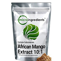 Bahan Micro Murni Mango Afrika Extract Powder