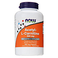 NOW Foods Acetil L-Carnitina