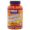 NOW Foods L-αργινίνη ορνιθίνη-δ