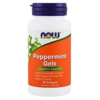 Now Foods Peppermint Gels