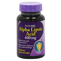 Natrol ácido alfa lipóico