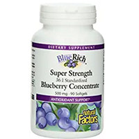 Natural Factors Bluerich Blueberry Concentrate
