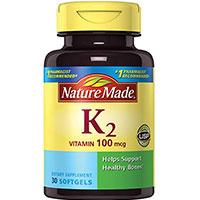 ბუნება Made ვიტამინი K2 softgel