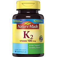 Nature Valmistettu vitamiini K2 Softgel