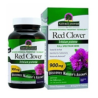 Resposta da natureza Red Clover Top Vegetariana Cápsulas