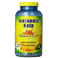 Nature's Life Kelp Tablets