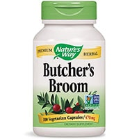Natures Way Butcher's Broom Root Capsules