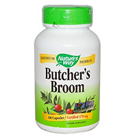 Broom Way de la nature Butcher racine Capsules