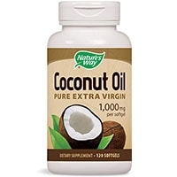 Natures Way Coconut Oil Soft Gels