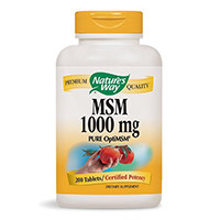 Nature's Way MSM 1000mg