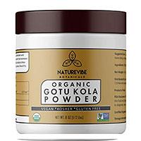 Naturevibe Orgánica Gotu Kola en polvo