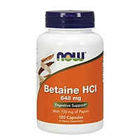 ახლა Foods-Betaine-HCl