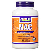 Now Foods N-acetil cisteina Tablet, 1000 mg