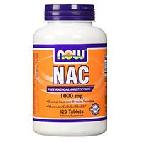 Now Foods N-Acetyl- Cysteine Tablet, 1000 mg