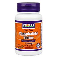 Теперь Foods Соевый бесплатно фосфатидилсерин таблетки