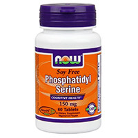 अब फूड्स सोया मुक्त Phosphatidyl सेरीन