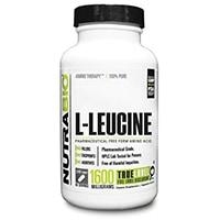 NutraBio 100% καθαρή L-λευκίνη