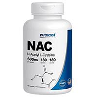 Nutricost N- აცეტილ L-Cysteine (NAC) 600mg