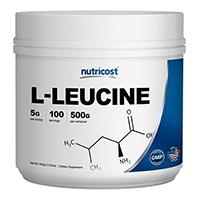 Nutricost καθαρή L-λευκίνη Σκόνη