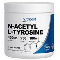 Nutricost Suiwer N-Asetiel L-Tyrosine