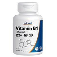 Nutricost विटामिन B1
