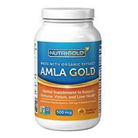 Nutrigold ორგანული Amla Gold ვეგეტარიანული Capsules
