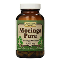 Only Natural Moringa Pure -- 1000 mg