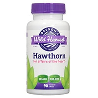 Wild Harvest Hawthorn Organic Herbal Supplement ni Oregon